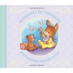 Moments To Treasure Baby Album & Record Book