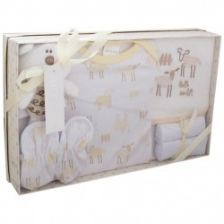 Kris X Kids 7 Piece Gift Set for 0-3 months sheep