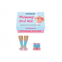 Mummy and Me Pack Of Five Socks by Cucamelon