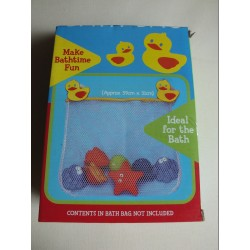 A-Z Bath Bag with Toy Whale