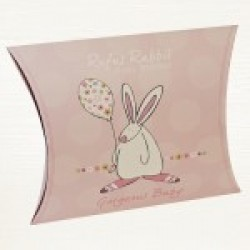 Rufus Rabbit Soft baby Blanket