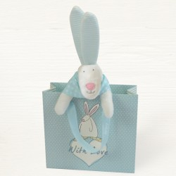 Rufus Rabbit Comforter In Gift Bag